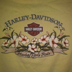 Authentic Women's Harley Davidson tank top